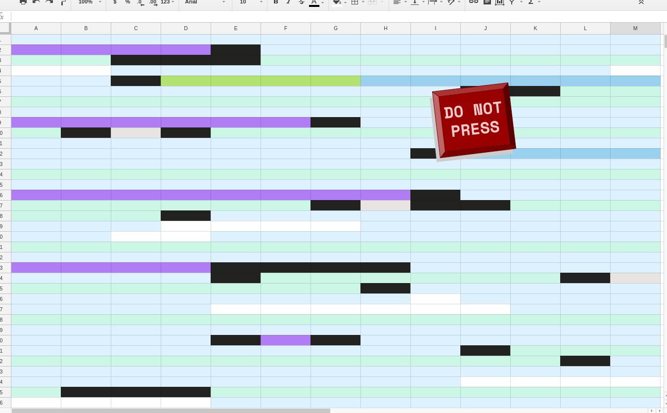 JavaScript the spreadsheet for fun & profit